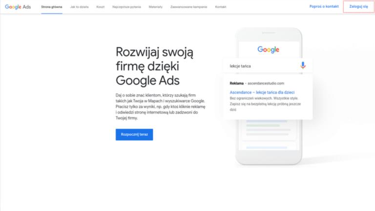 Reklama w Google Ads – podstawy dla początkujących [poradnik]